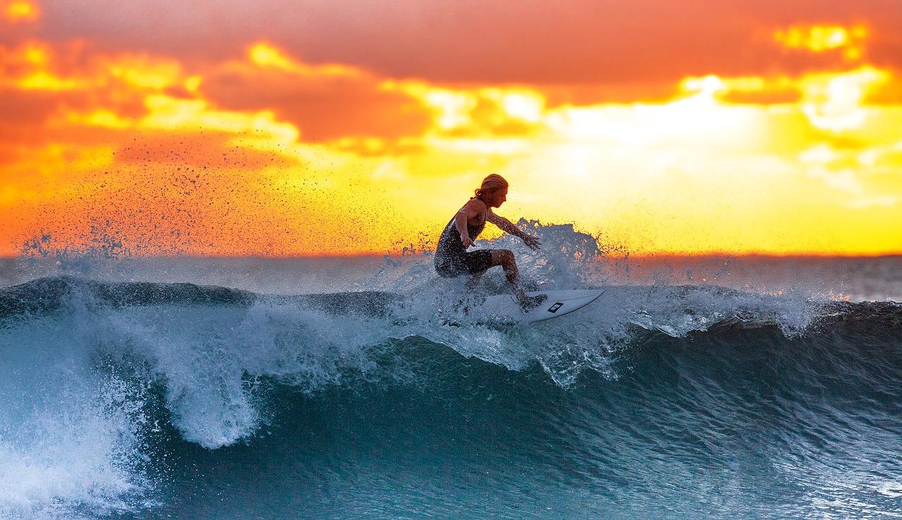 surfing, sunset, waves-2212948.jpg